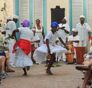 Baile de tradición afro cubana