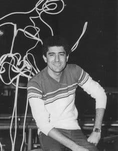 """Sergio Farías en 1980 año en que ganó el concurso de televisión """"Todo el Mundo Canta"""""""