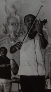 Enrique Jorrín playing violin
