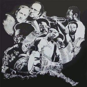 collage que muestra algunos músicos de Irakere