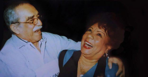 Migdalia Hechavarría and Gabriel García Márquez