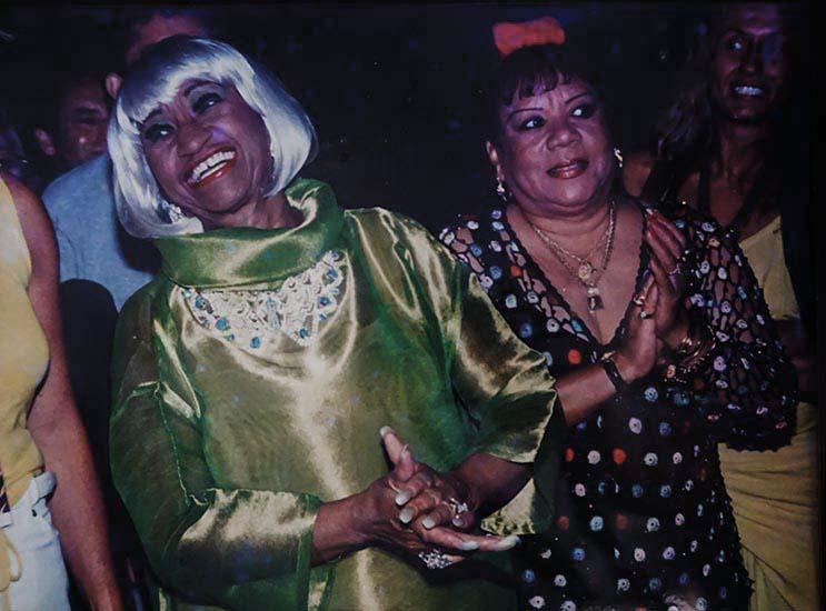 Migdalia and Celia Cruz