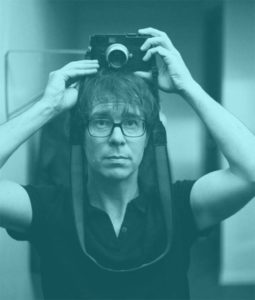 Ben Folds posing with a camera