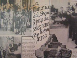 periódico argentino reseñando la muerte del músico negro cubano
