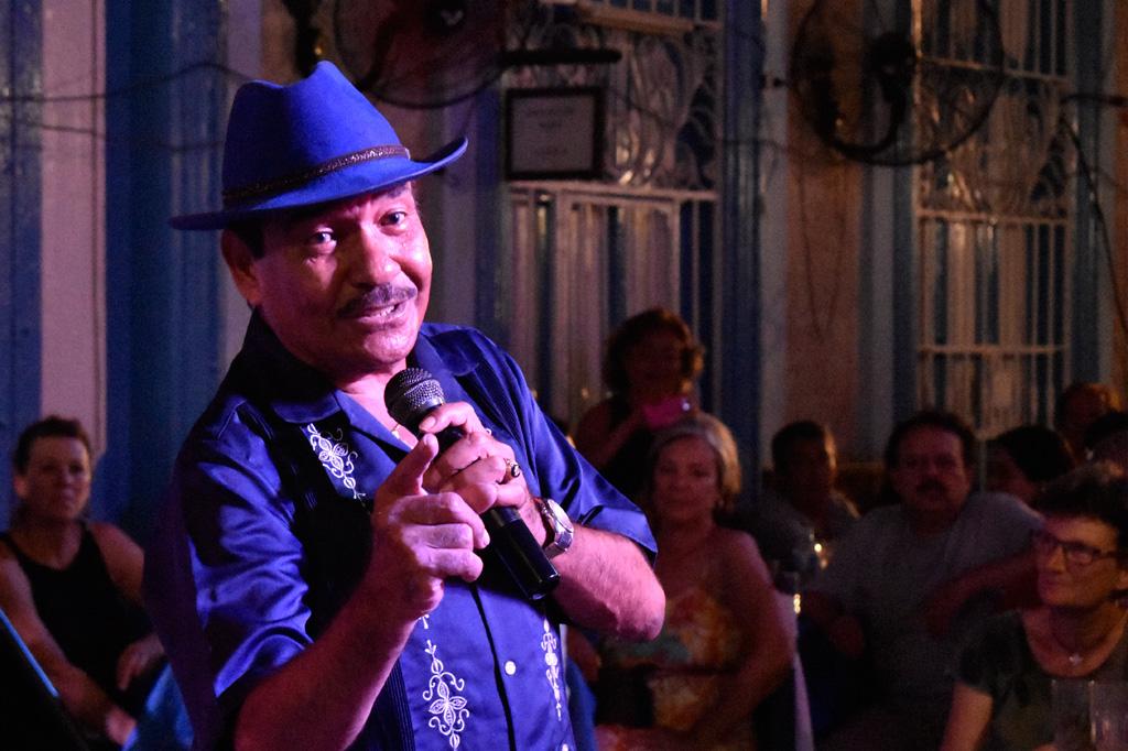 a cuban singer of guaracha song named el muso