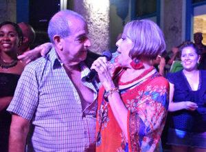Pancho González y Raquel Hernández